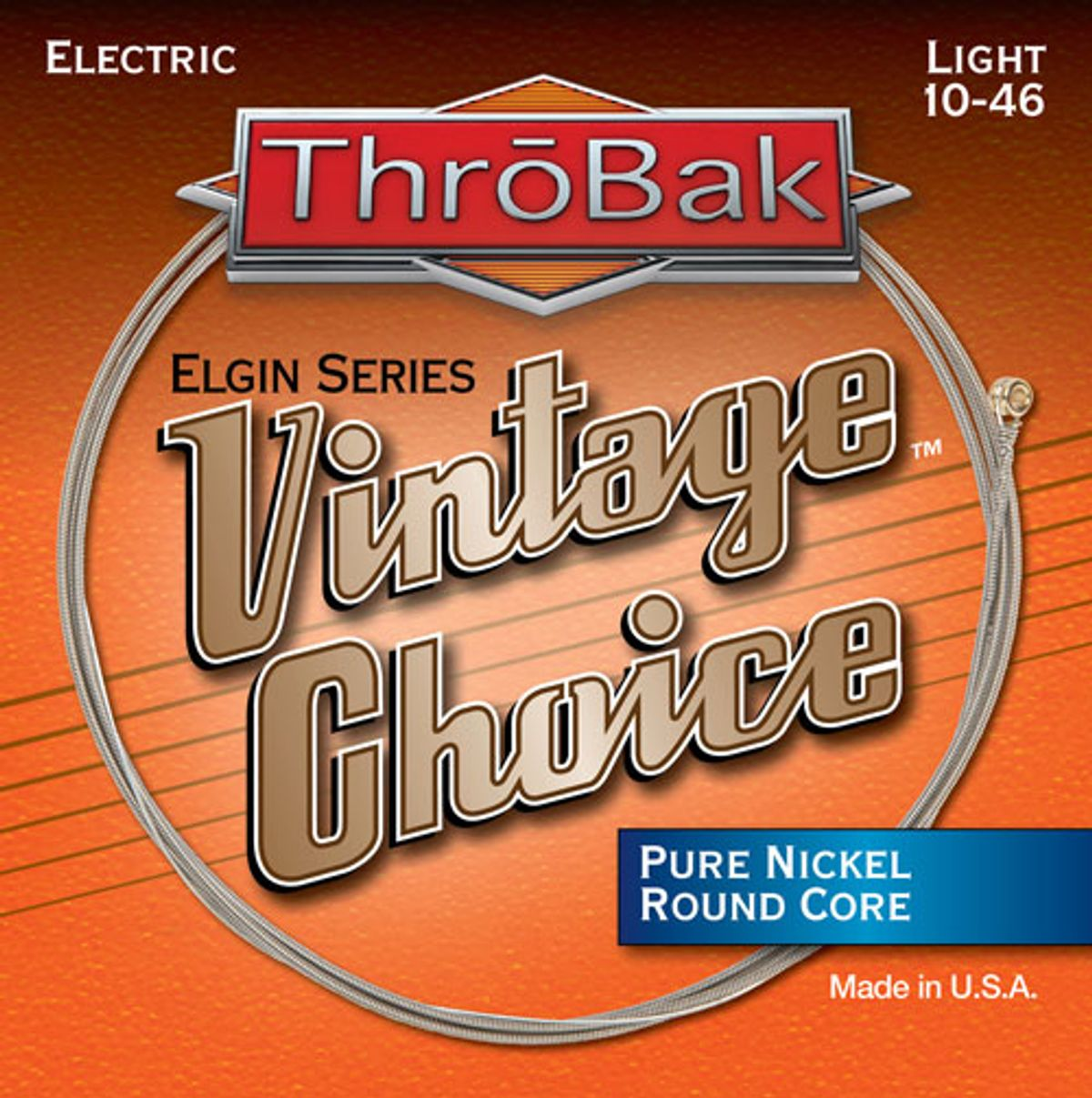 ThroBak Unveils Vintage Choice Elgin Series Electric Guitar Strings