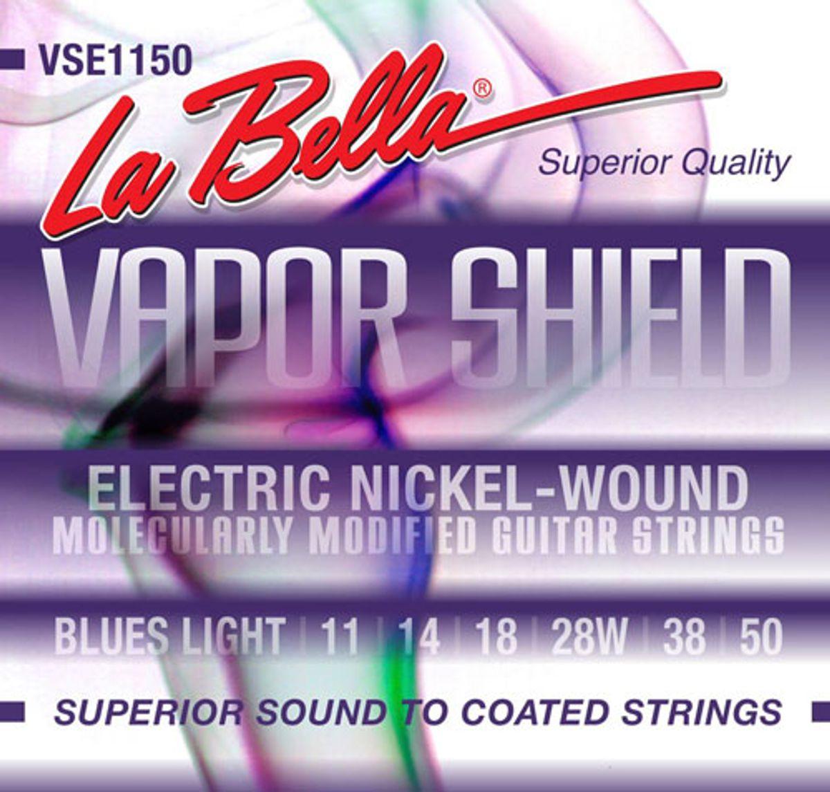 La Bella Strings Introduces Vapor Shield Treated Strings