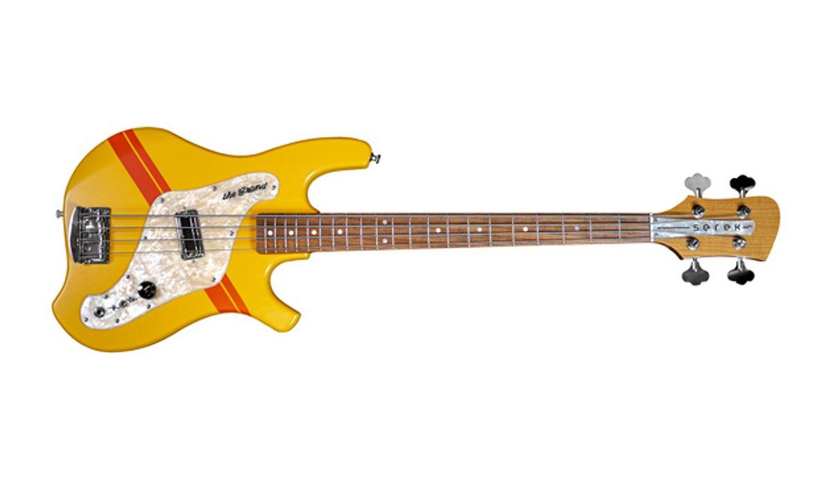 Serek Basses Announces the Grand Bass Guitar