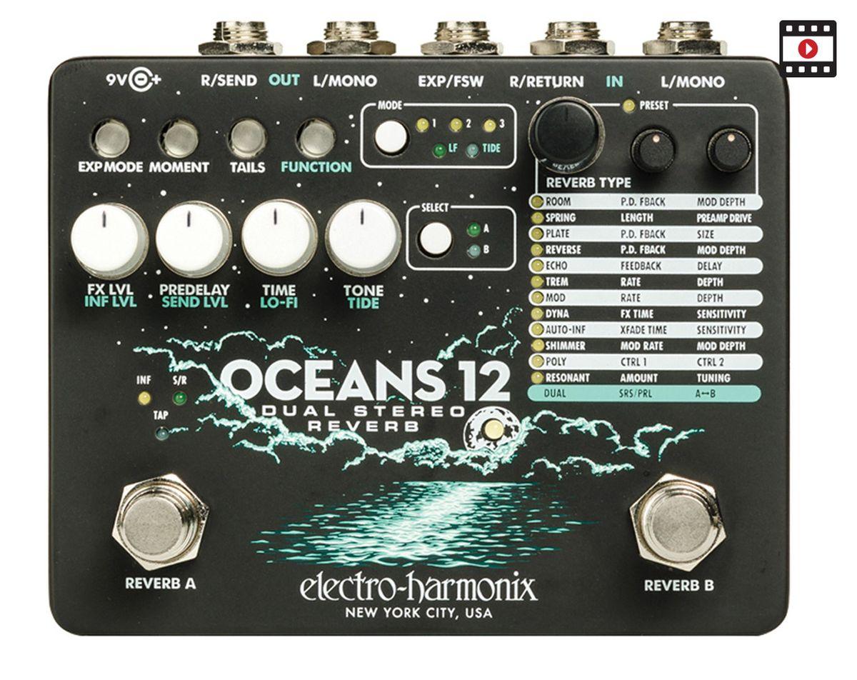 Electro-Harmonix Oceans 12: The Premier Guitar Review
