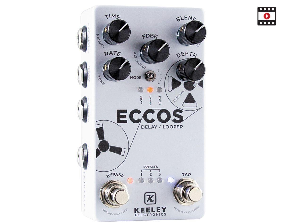 Keeley Eccos Delay/Looper: The Premier Guitar Review