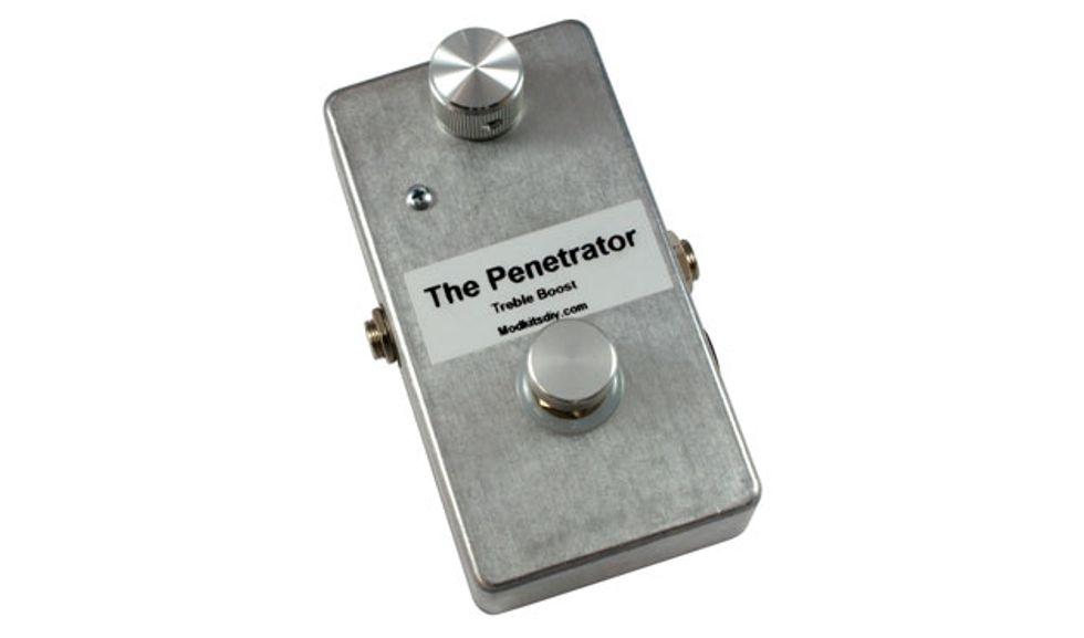 mod kits diy unveils the penetrator treble boost pedal kit premier guitar. Black Bedroom Furniture Sets. Home Design Ideas