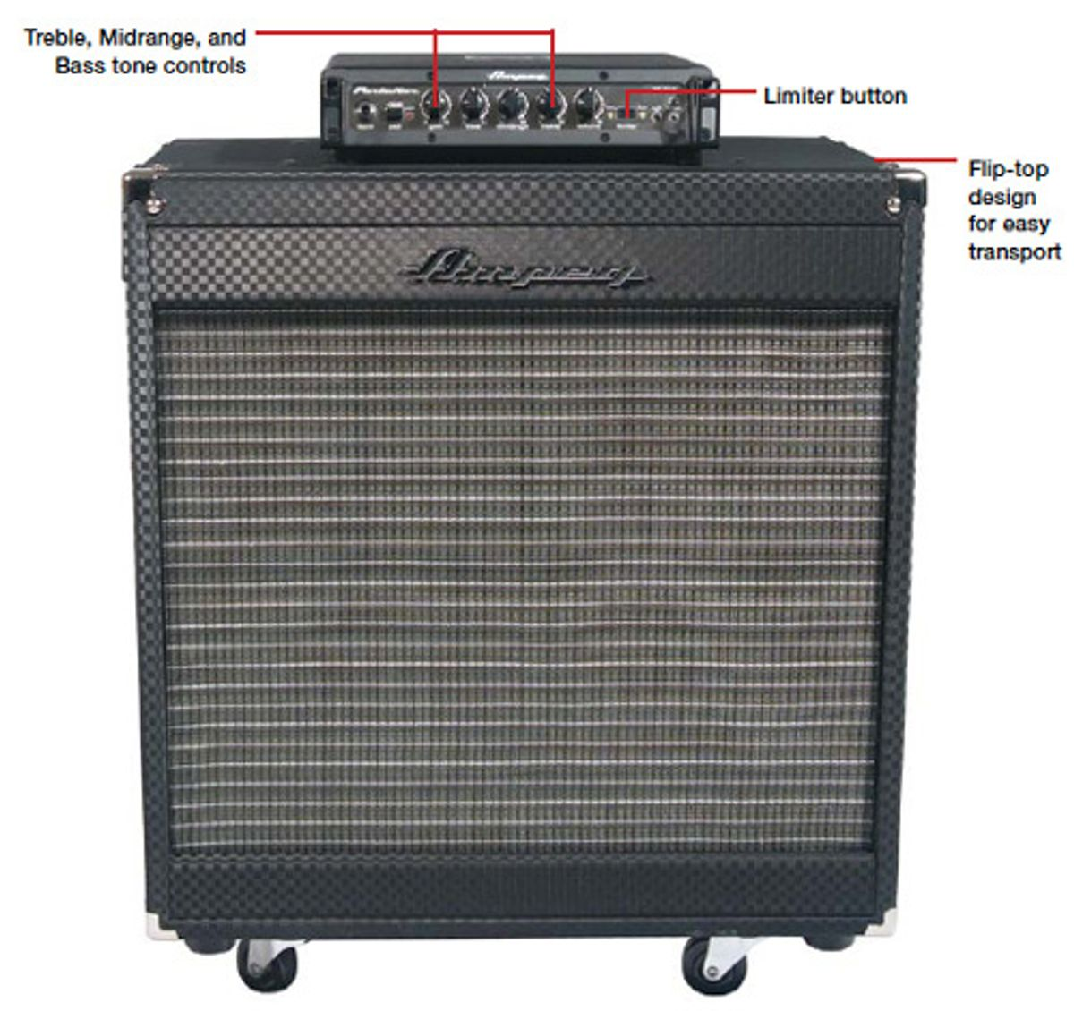 Ampeg Portaflex PF-350 Head and PF-210HE Cab Review