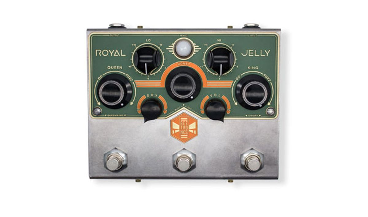 Beetronics Unveils the Royal Jelly and the Buzzter