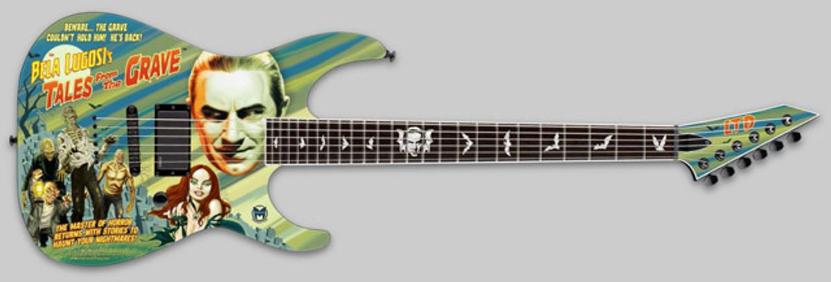 ESP Guitars Announces New Custom and Limited-Edition Horror-Themed Guitars