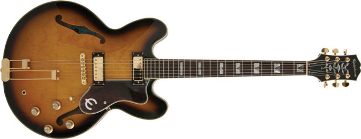 Epiphone 1962 Sheraton E212T Semi-Hollow Guitar Review