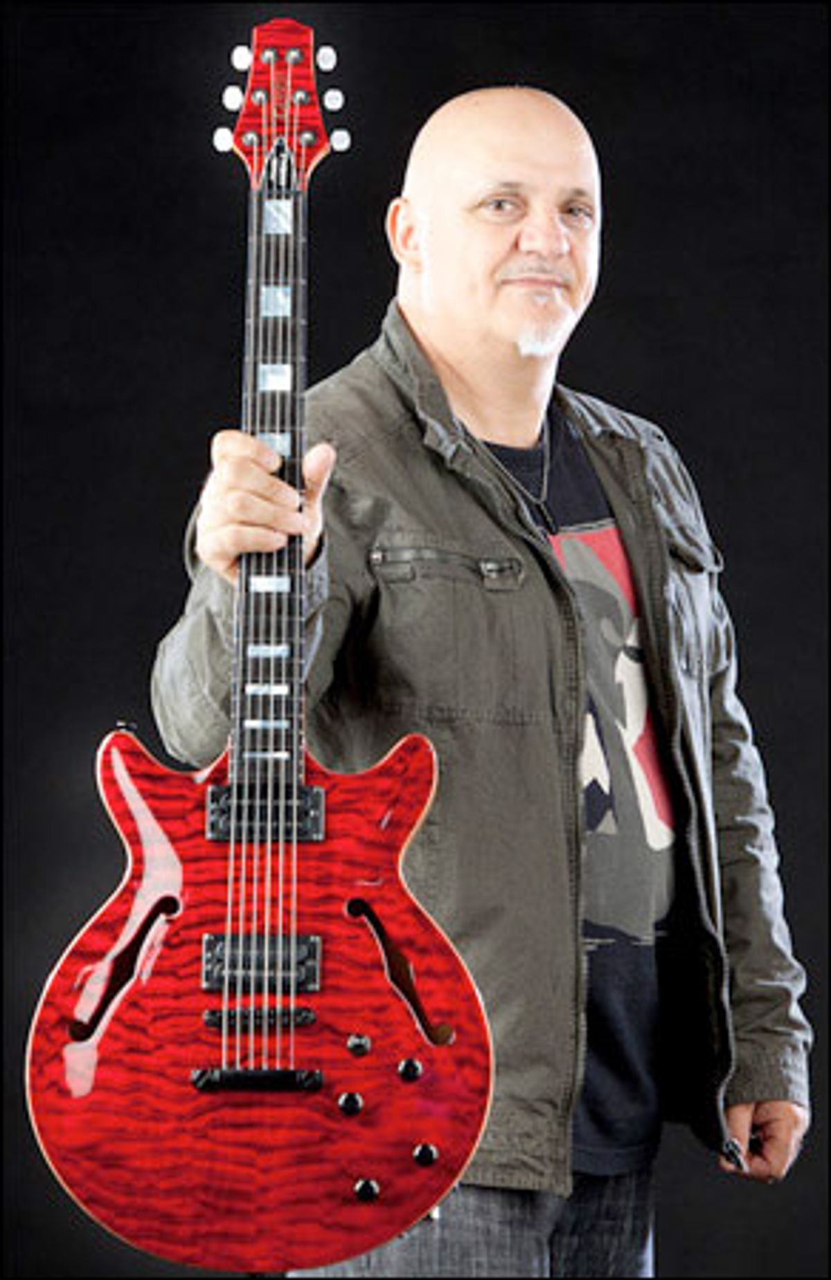 Carvin Introduces the Frank Gambale FG1 Signature Guitar