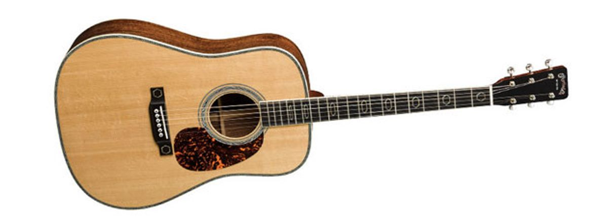 Martin Unveils the HD-35 CFM IV 60th and D12-35 50th Anniversary