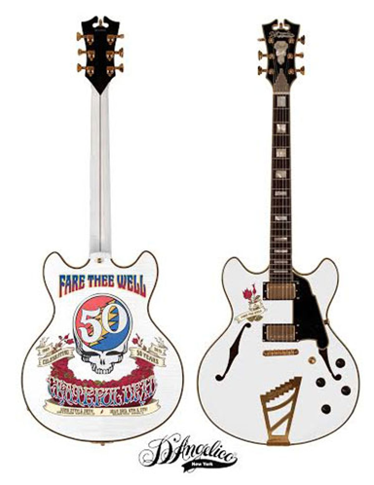 D'Angelico and Headcount Team Up for Grateful Dead Auction