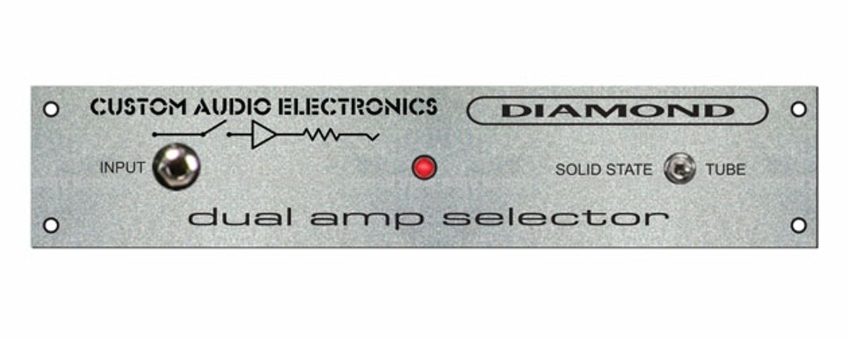 Diamond Amplification and Custom Audio Electronics Releases the Dual Amp Selector