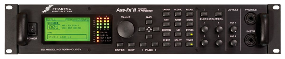 Fractal Axe-FX II Preamp FX Processor Review