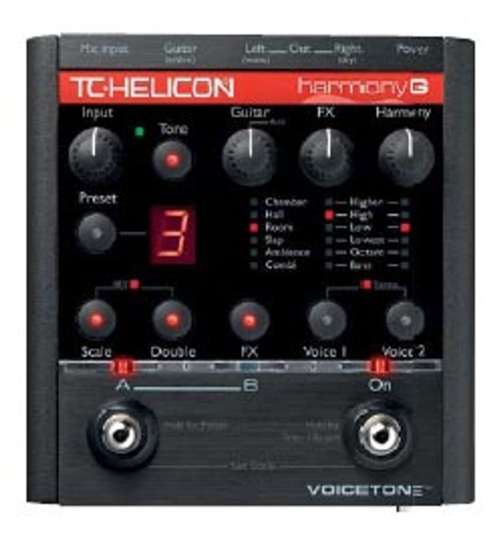 TC-Helicon VoiceTone Harmony-G