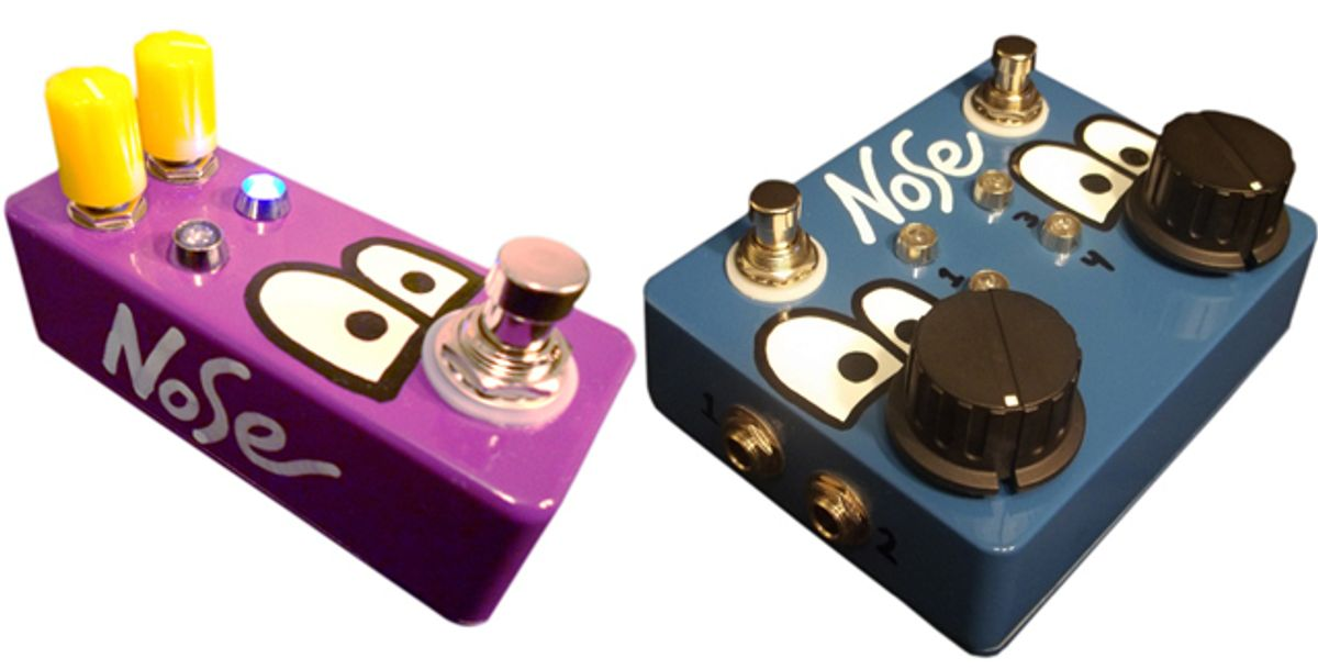Nose Pedal Unveils the Quad Box and Expression Stomp