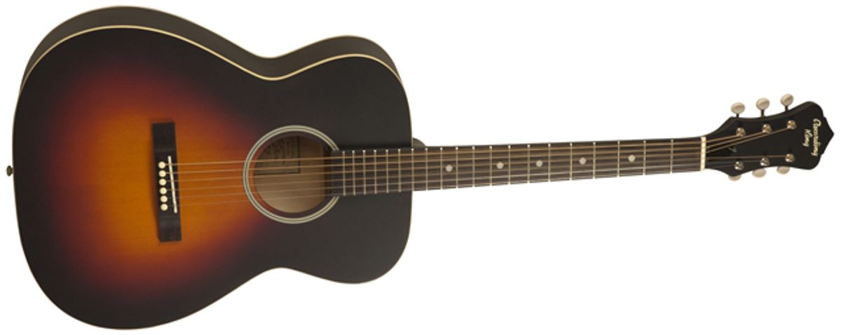 Recording King Introduces the Dirty Thirties Series Vintage-Style Solid Top Guitars