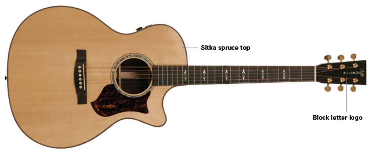 Martin GPCPA1 Grand Performance Acoustic Guitar Review