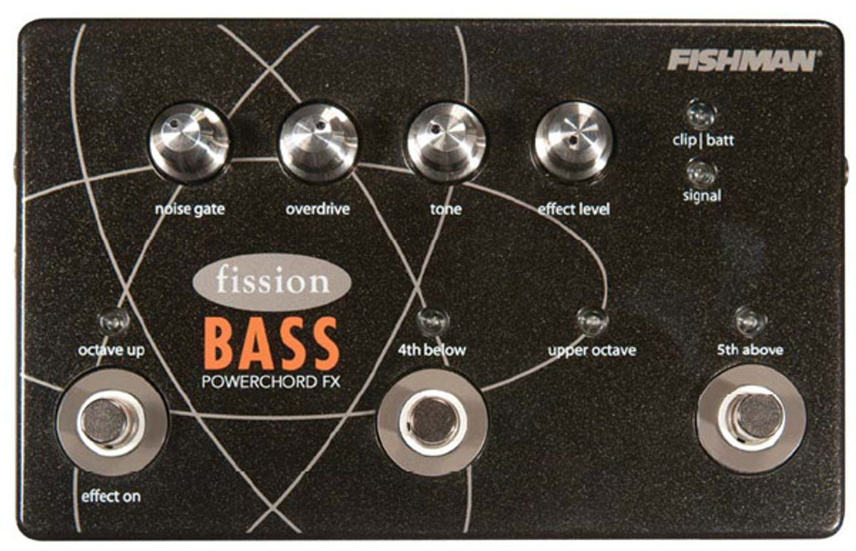 Fishman Fission Bass Powerchord FX Pedal Review