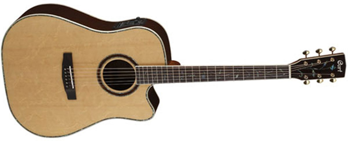 Cort Guitars Introduces Solid Rosewood MR1200FX Acoustic Guitar