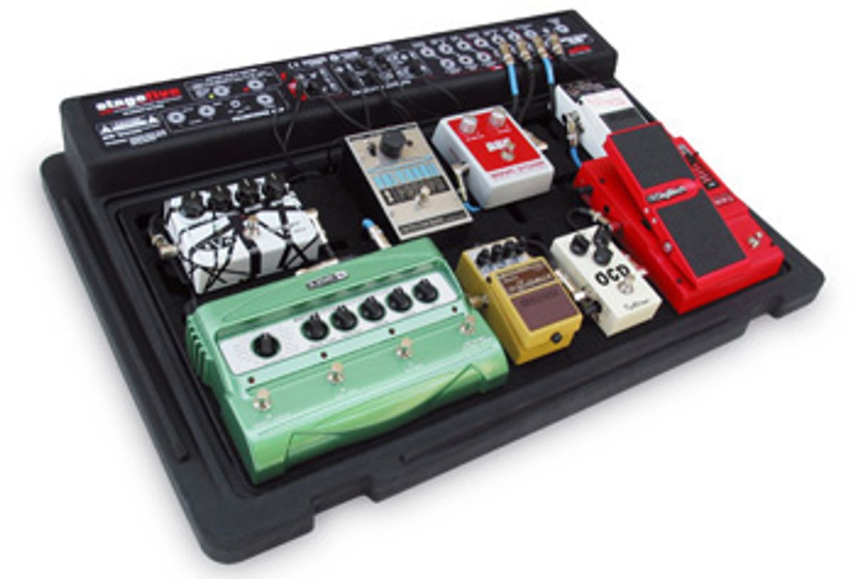 Review: SKB PS-55 stagefive Pedalboard