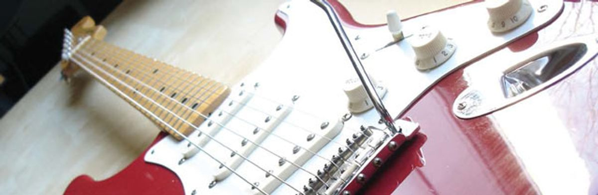 Finding a Strat and Giving it a New Soul
