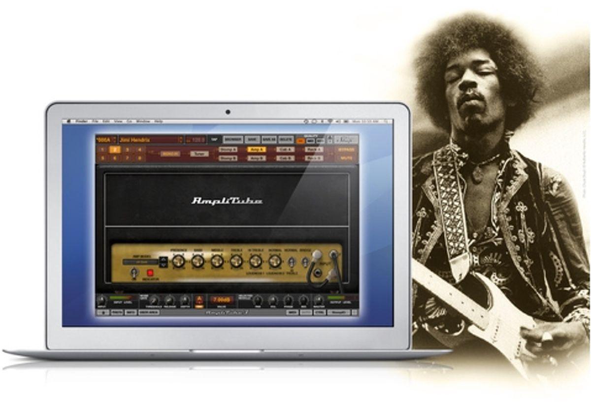 IK Multimedia Releases AmpliTube Jimi Hendrix Anniversary Collection