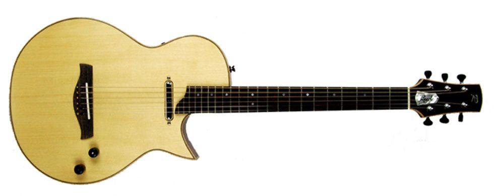 tim reede guitars releases the librada acoustic electric model 2013 08 12 premier guitar. Black Bedroom Furniture Sets. Home Design Ideas