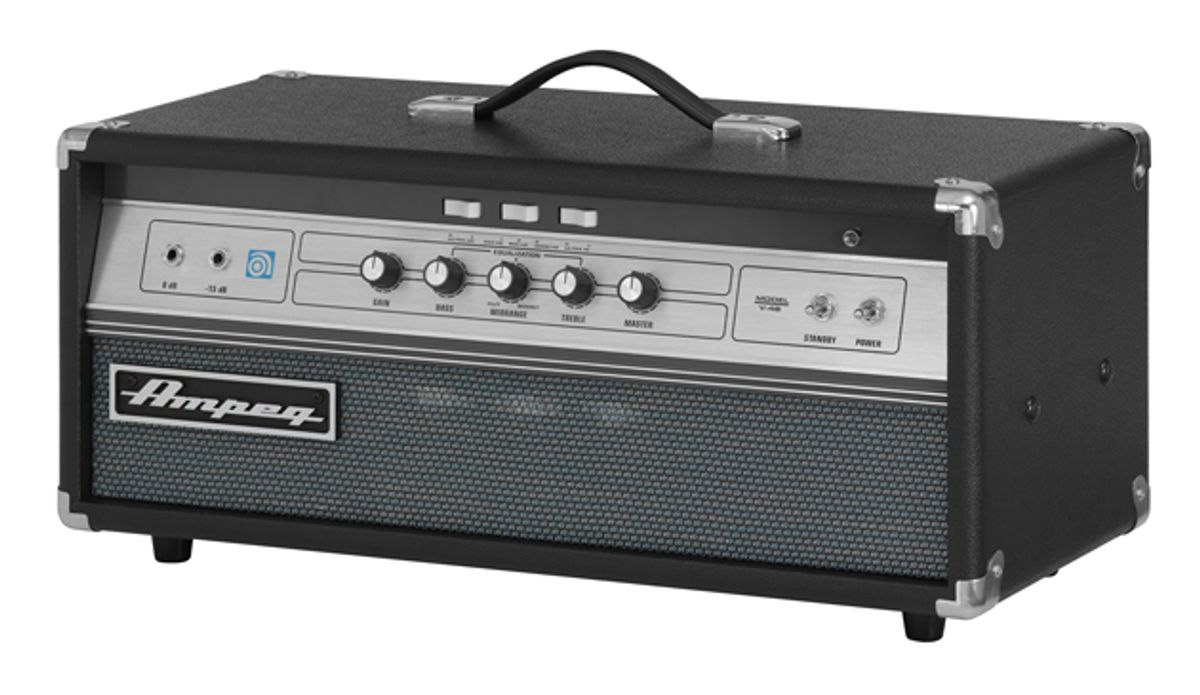 Ampeg Introduces V-4B 100W All-Tube Bass Head and New SVT Cabs