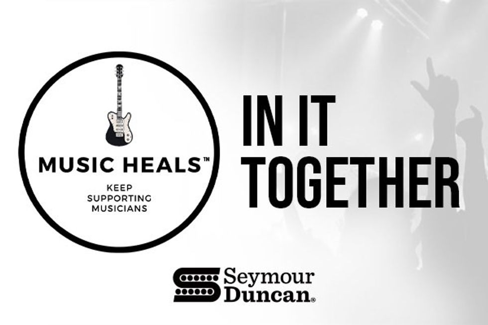 """Seymour Duncan Launches the """"Music Heals"""" Campaign"""