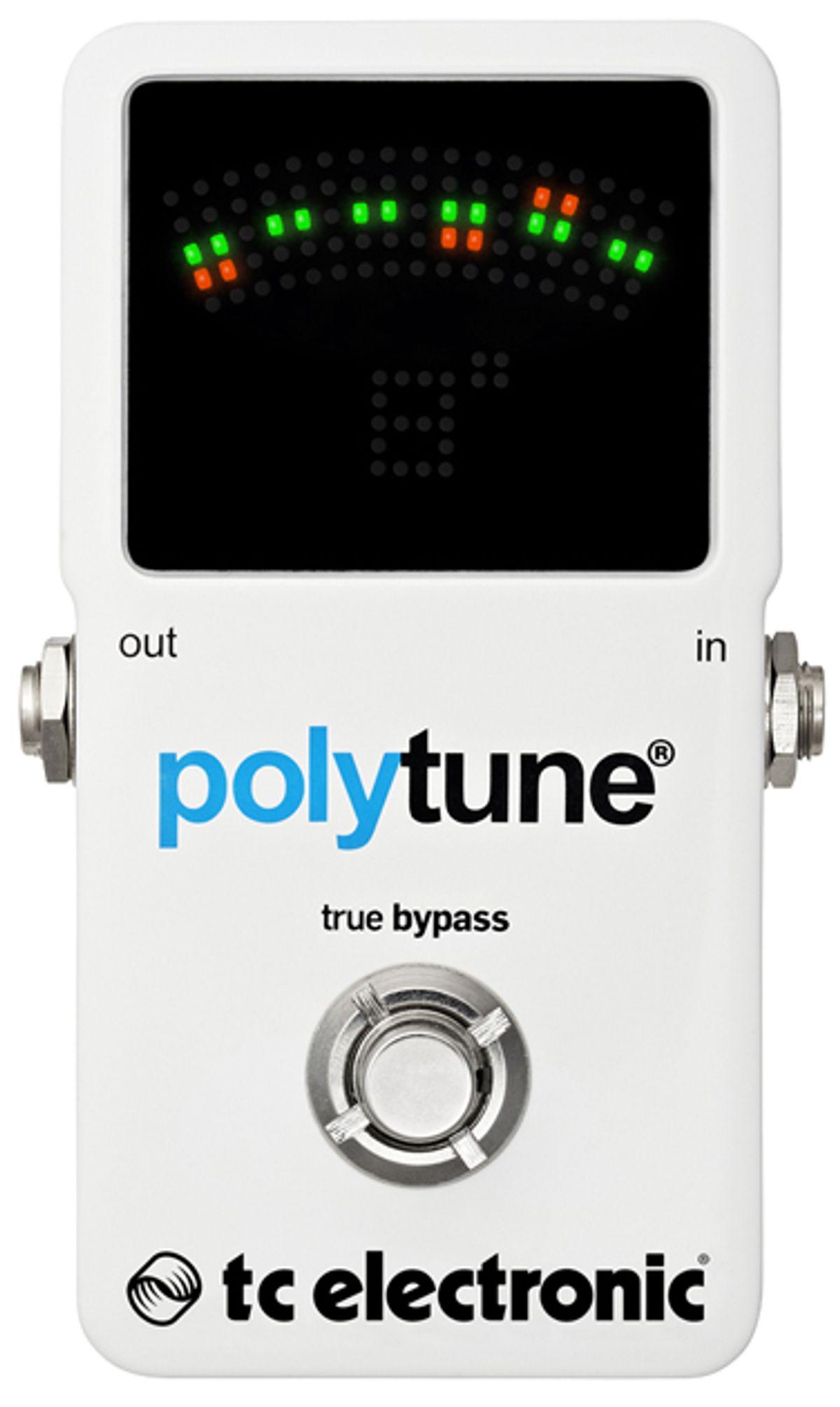 TC Electronic Announces PolyTune 2