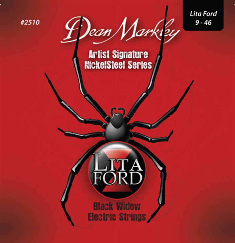 Dean Markley Announces Lita Ford Black Widow Strings