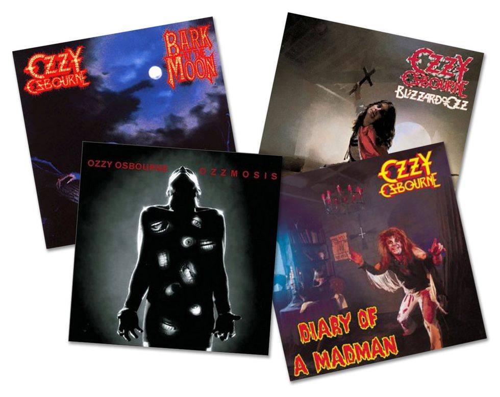 Ozzy's Guitar Army: Unlock the Solos of Randy, Jake, and Zakk