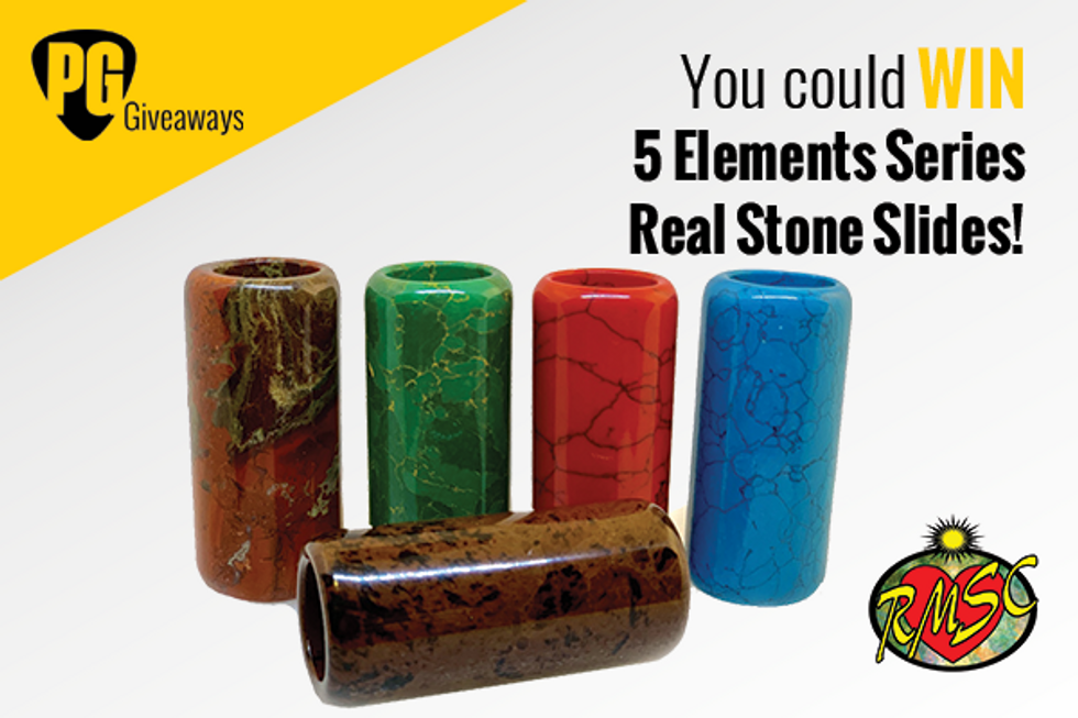 PG Giveaways: Rocky Mountain Slides Company 5 Elements Series Real Stone Slides
