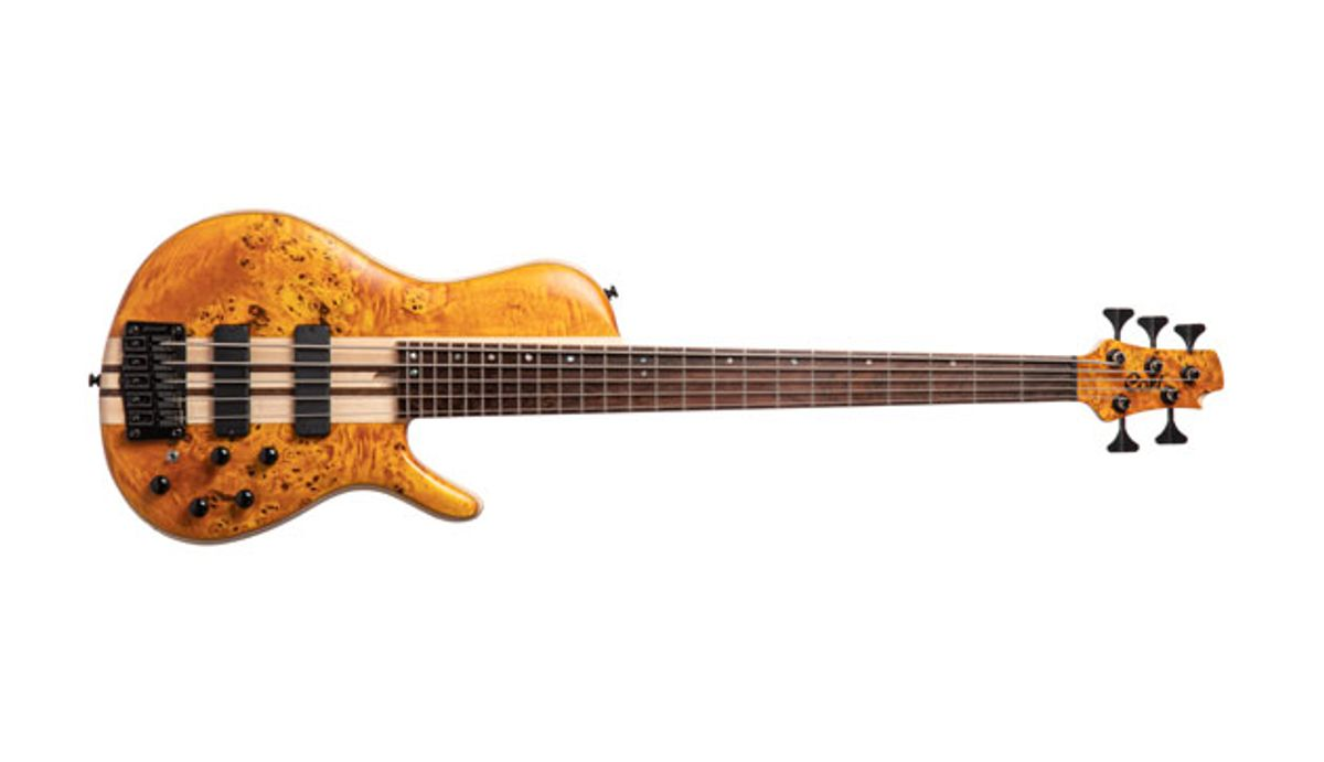 Cort Introduces the A5 Plus SC Single-Cutaway Bass