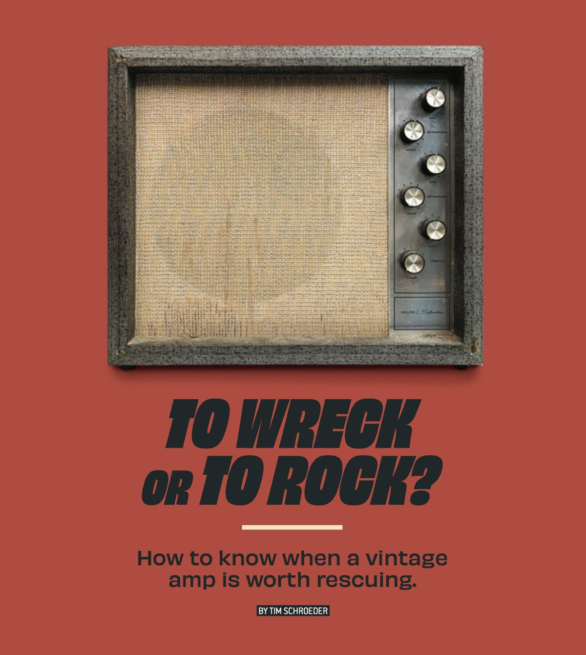 To Wreck or to Rock?