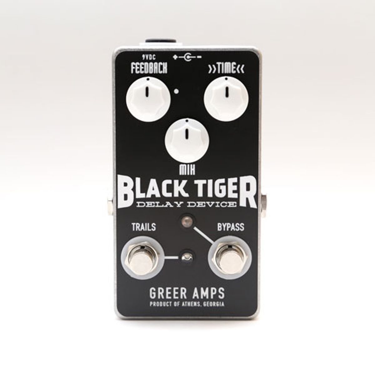 Greer Amps Introduces the Black Tiger Delay and Hammer Distortion
