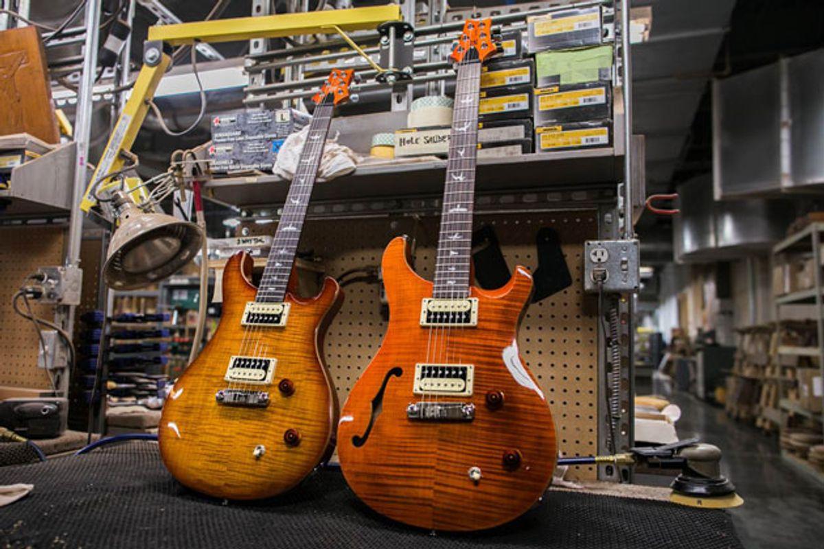 PRS Announces the SE Custom 22 and the SE Custom 22 Semi-Hollow