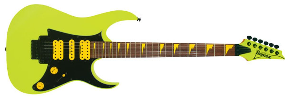 Ibanez 25th Anniversary RG Electric Guitar Review