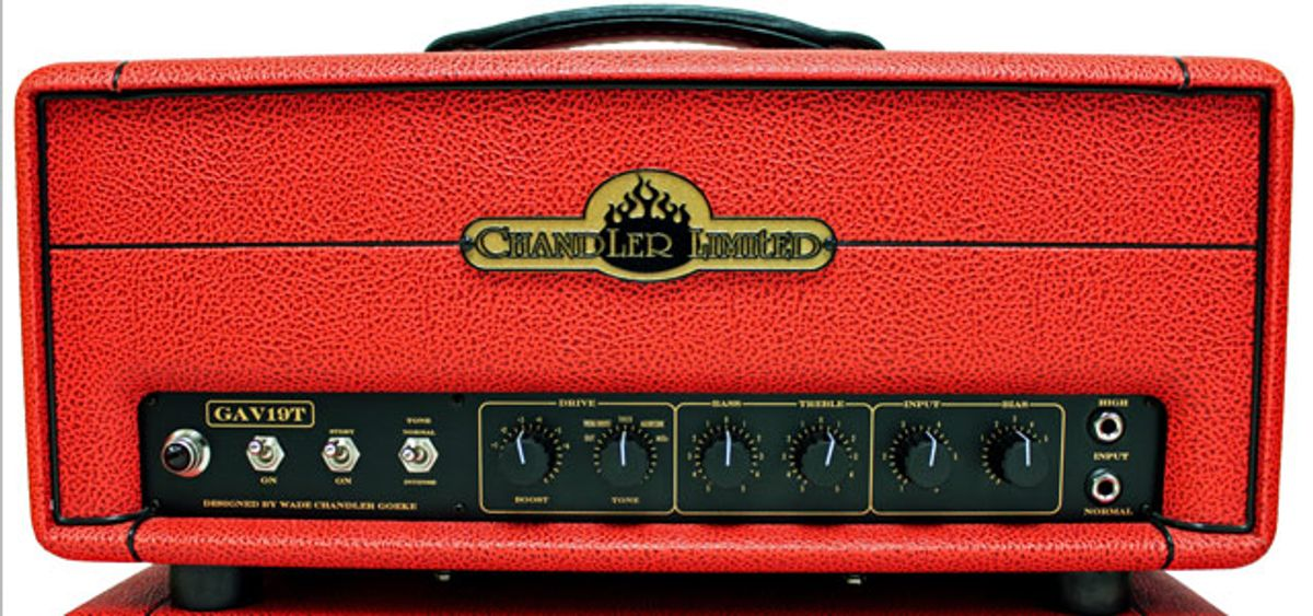 Chandler Limited Introduces the GAV19T Guitar Amplifier