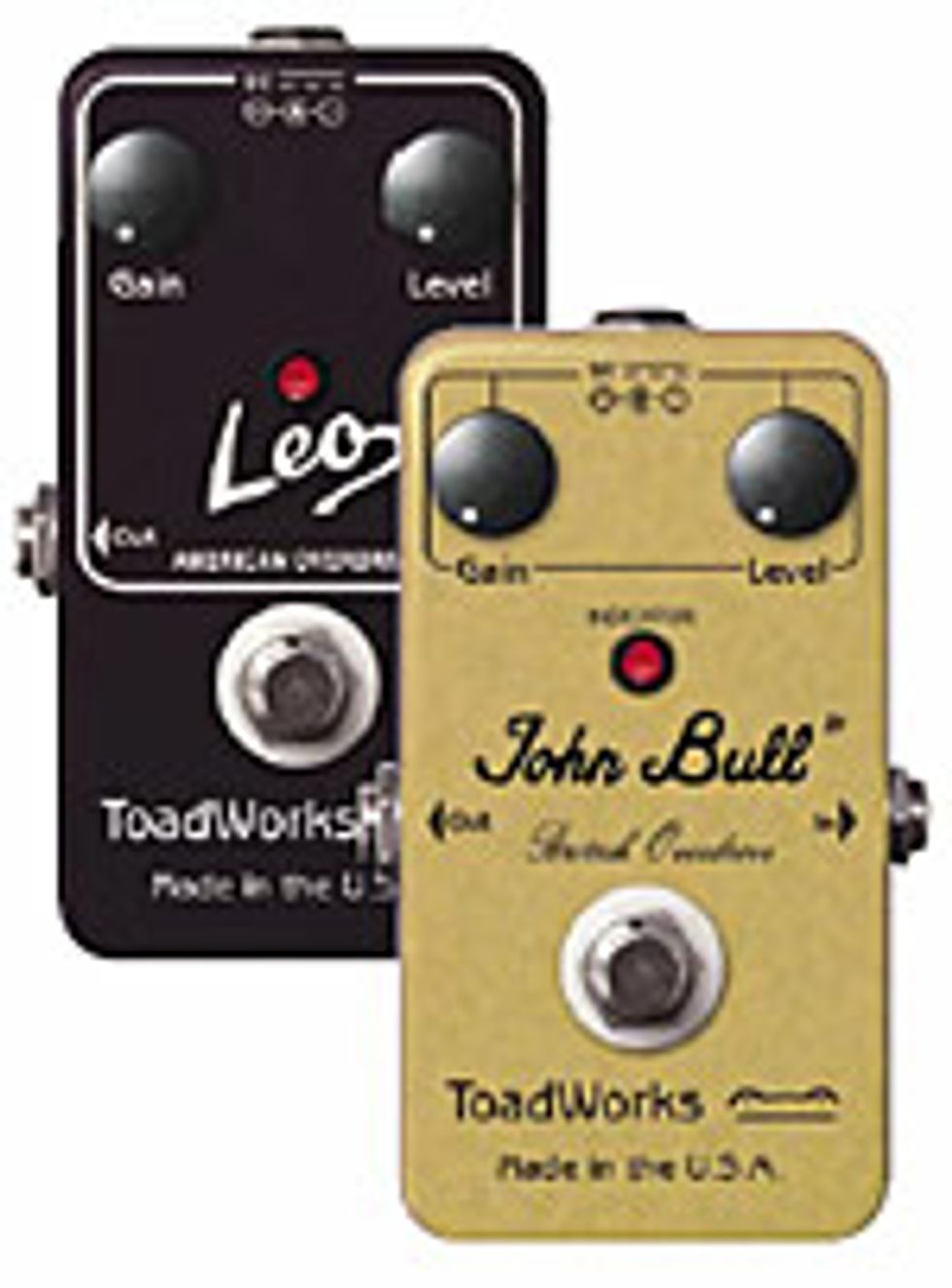 ToadWorks Jr Effects Pedals
