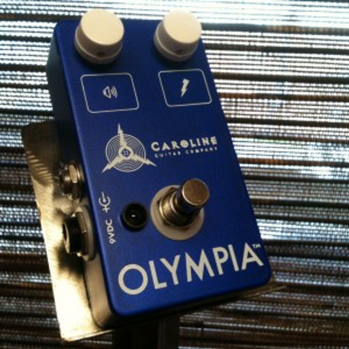 Caroline Guitar Company Releases Olympia Pedal With Kickstarter.com