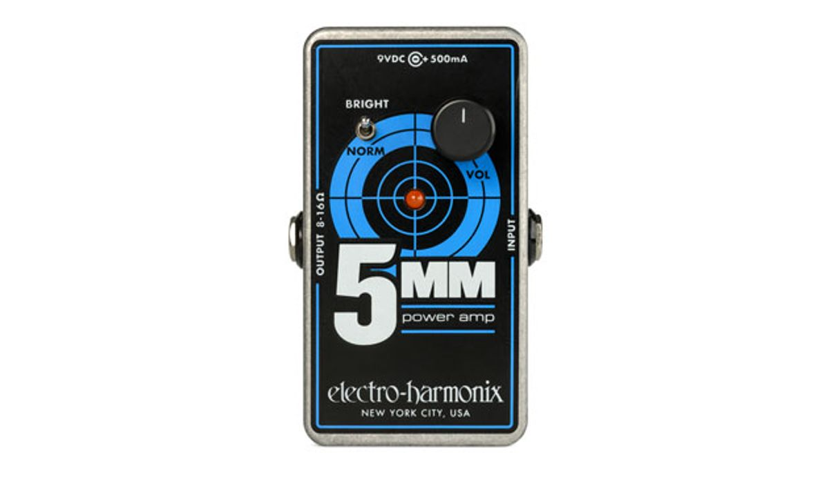 Electro-Harmonix Unveils the 5MM Guitar Power Amplifier