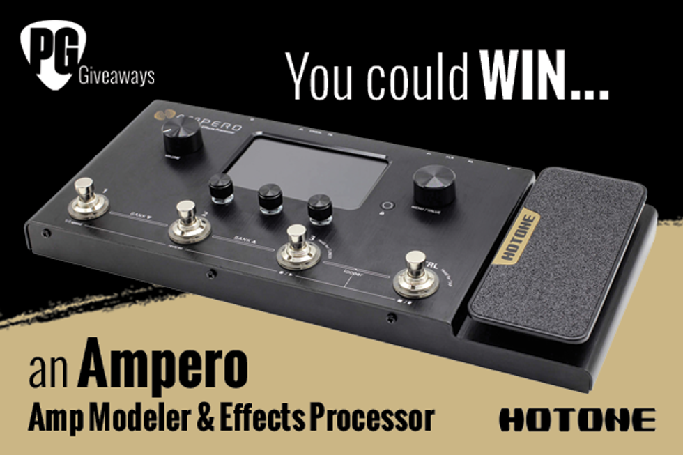 PG Giveaways: Hotone Audio Ampero