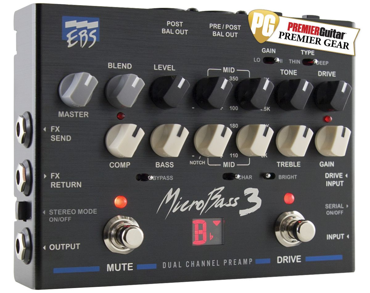 EBS MicroBass 3 Review