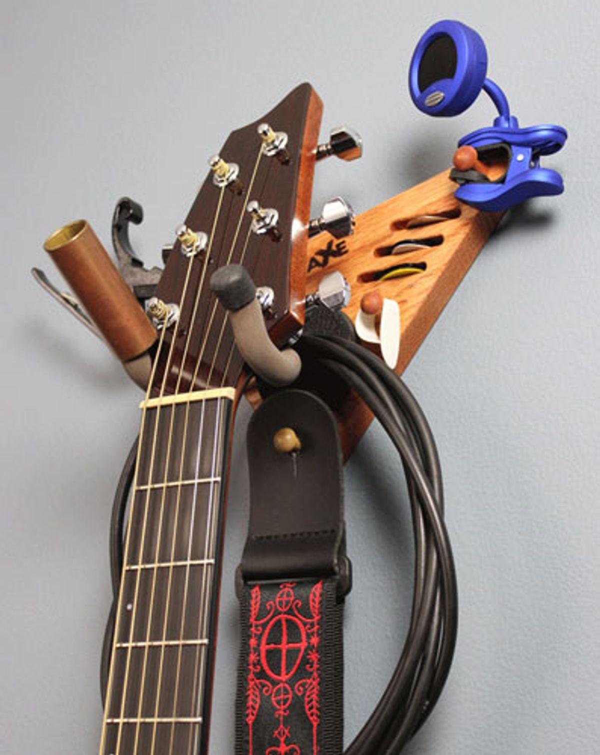 Wall-Axe Guitar Hangers Announces the Soloist