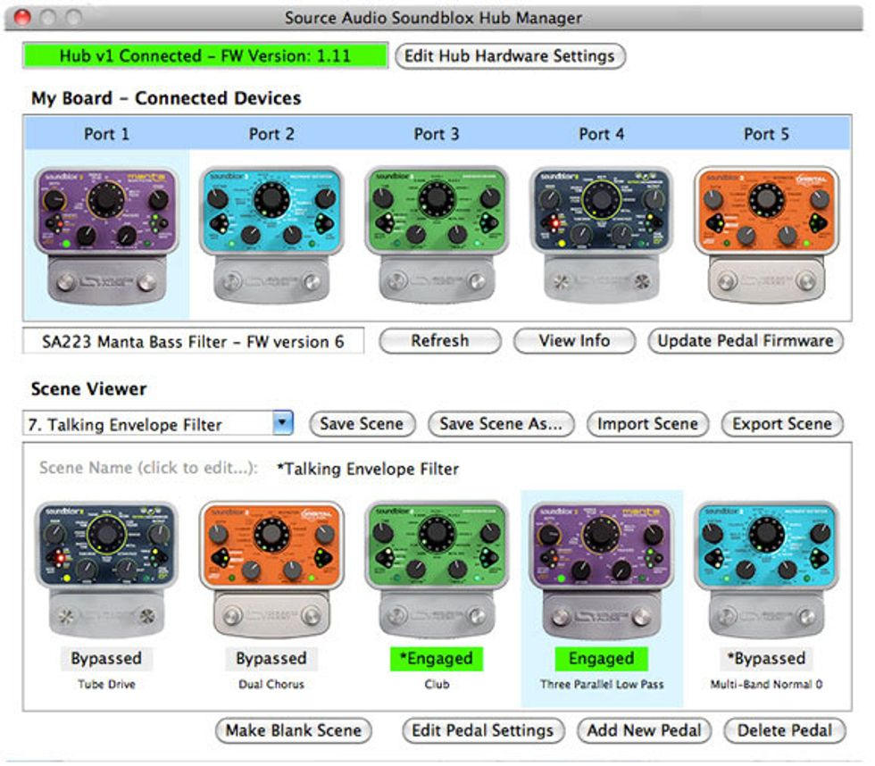 Source Audio Releases the Soundblox Hub Manager | 2014-08-07