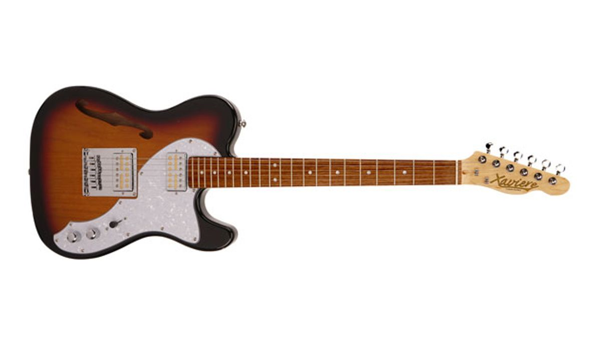 Xaviere Guitars Launches the Pro Series 845