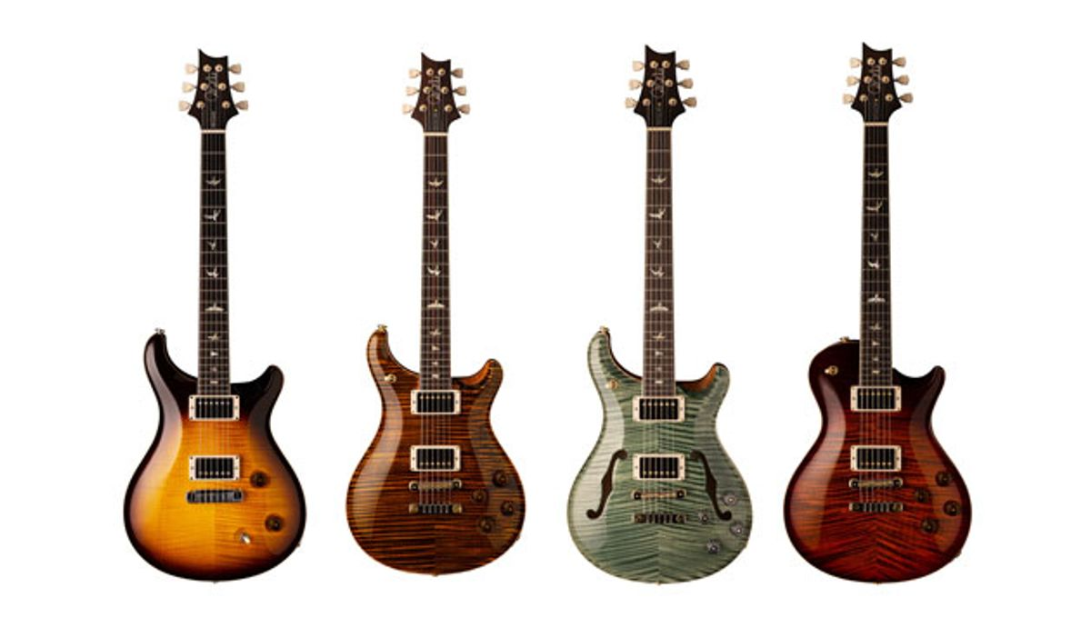PRS Guitars Celebrates 35th Anniversary with New Models
