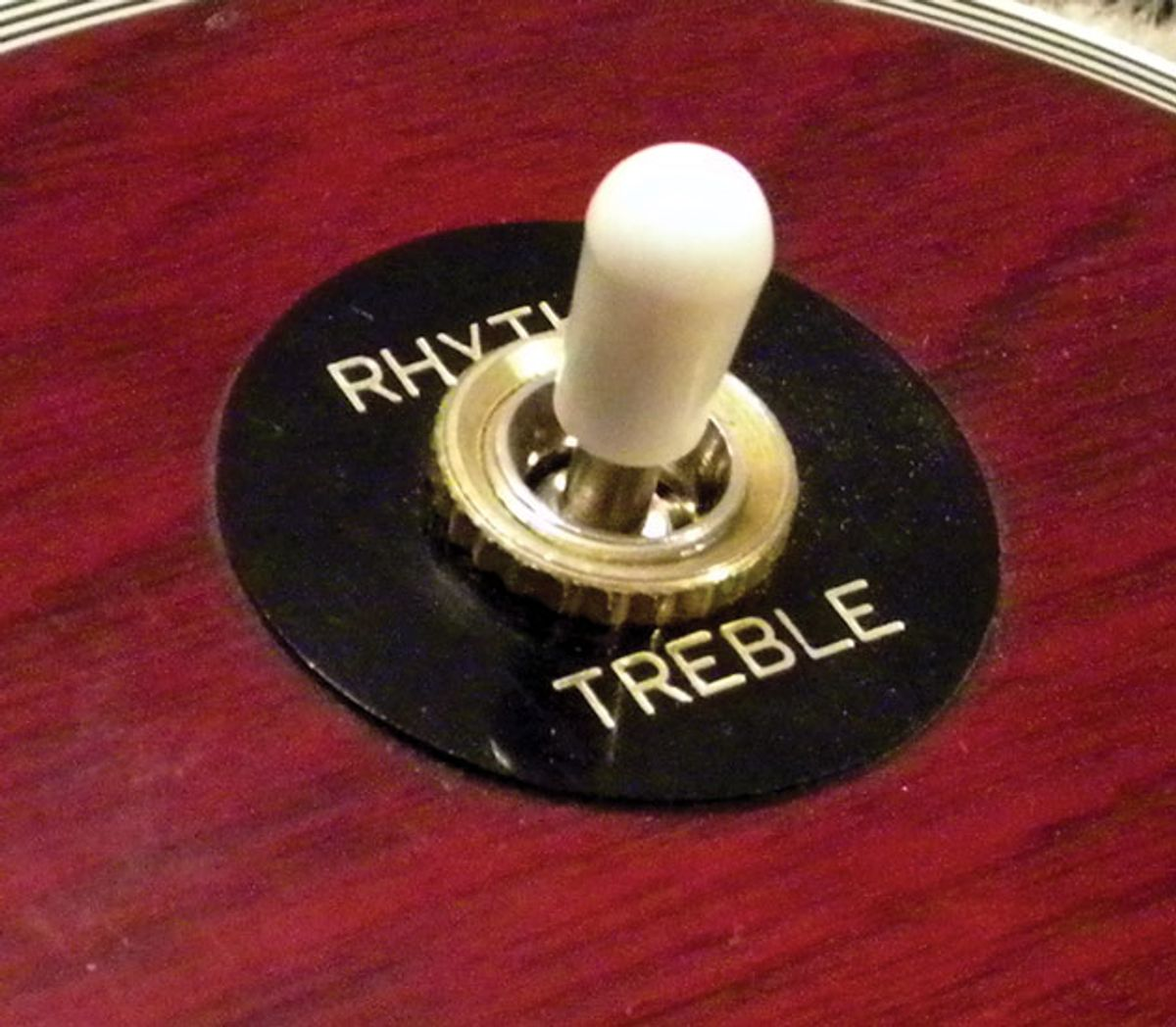 Guitar Shop 101: Tips for Replacing a 3-way Toggle