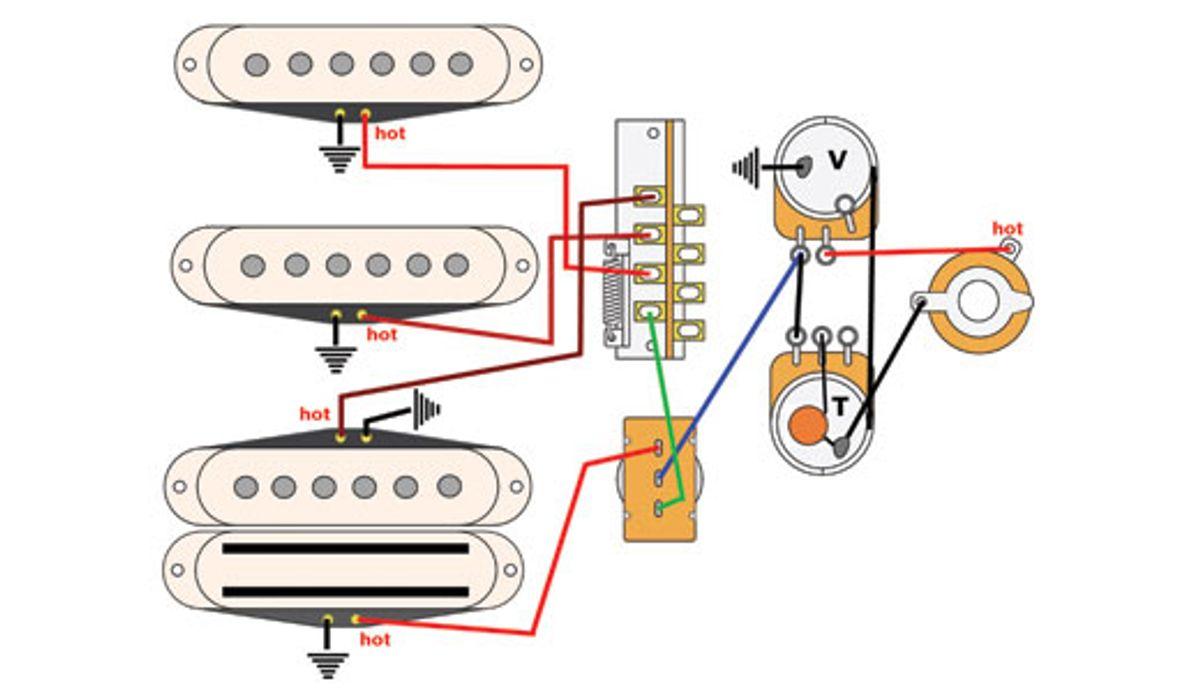 Mod Garage: Trad Strat and Bridge 'Bucker Tones