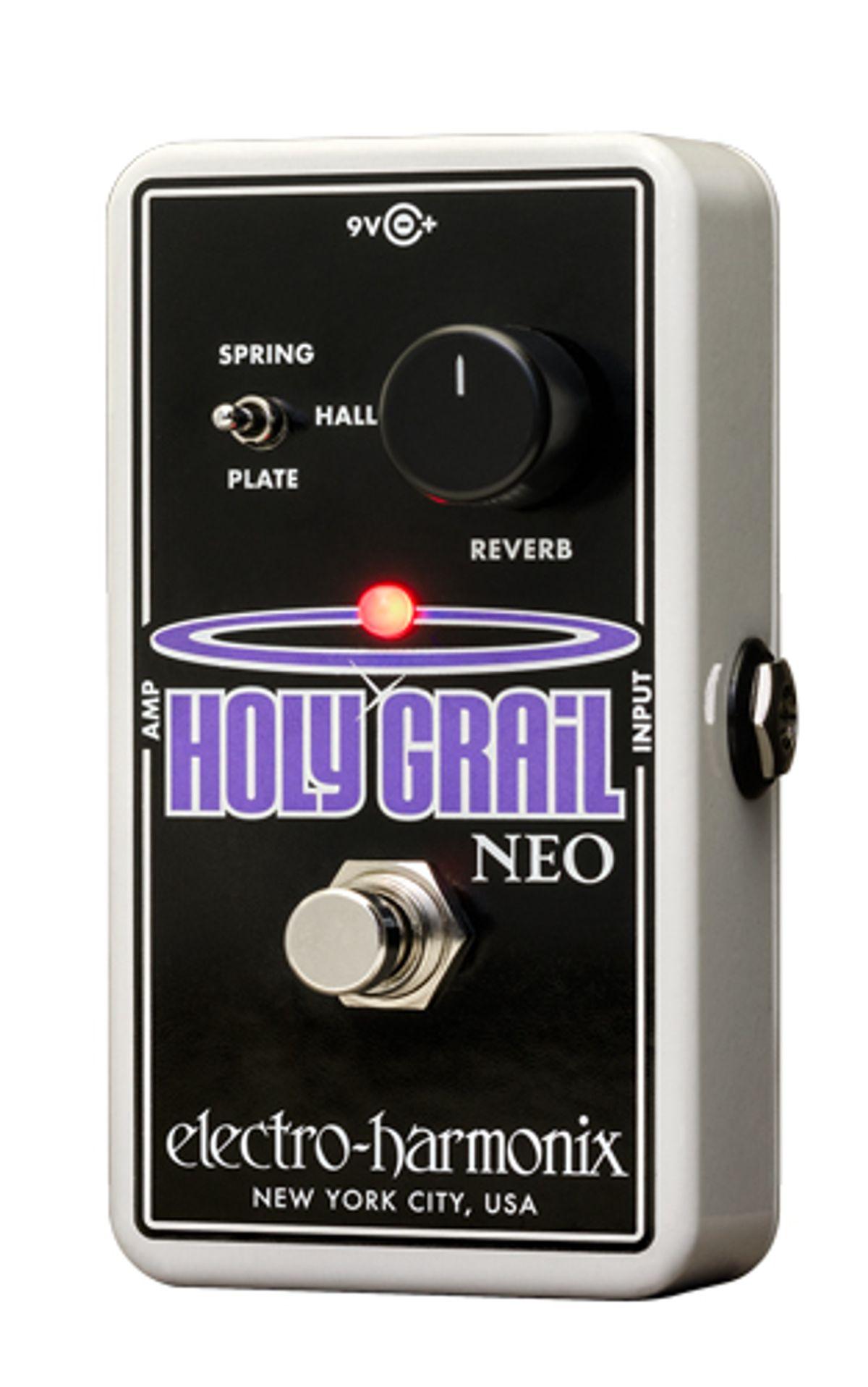 Electro-Harmonix Unveils the Holy Grail Neo