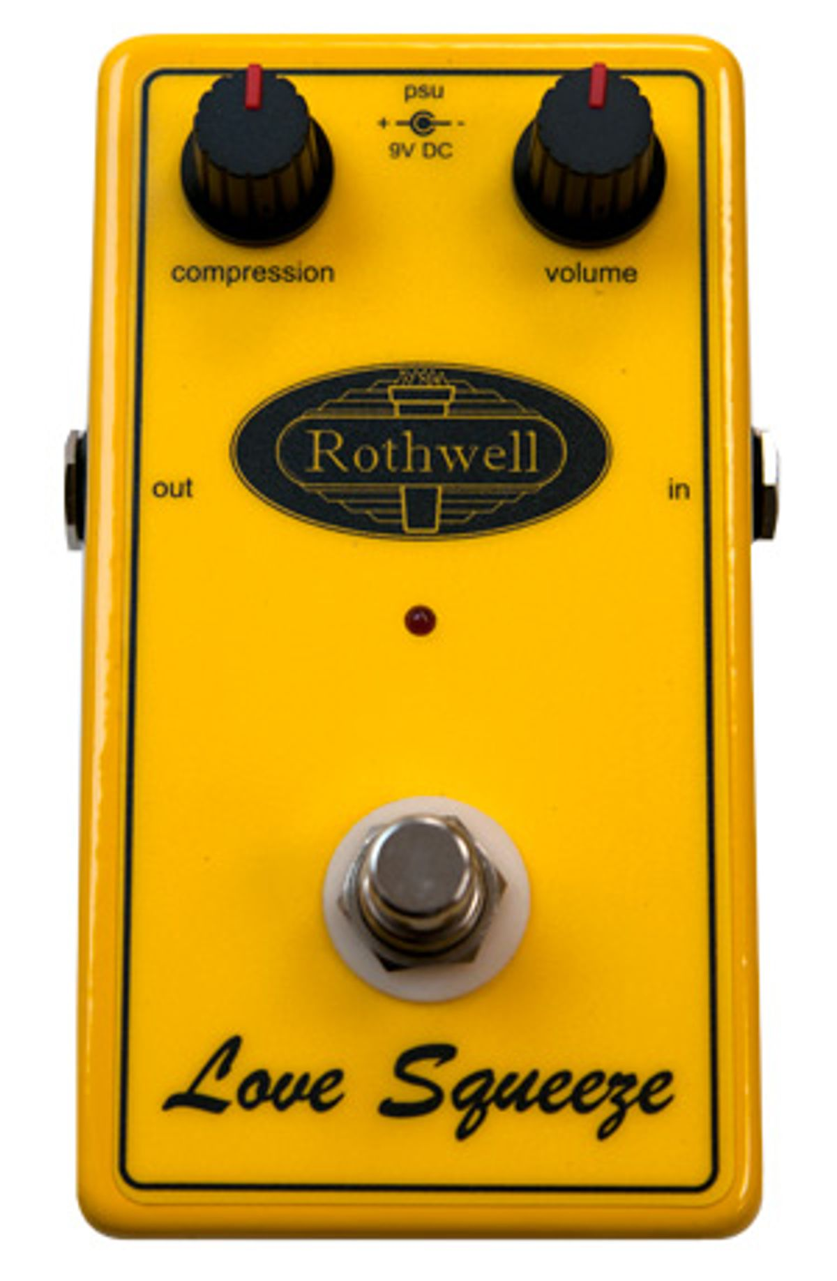 Rothwell Audio Love Squeeze Compressor Pedal Review